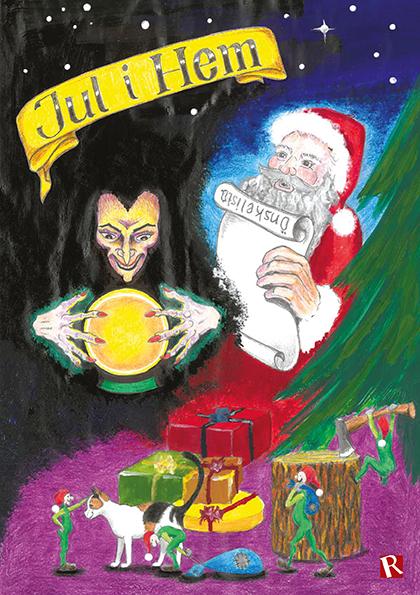 Omslag Jul i Hem